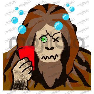 """If you're a big foot lover like we are, you will definitely need these Squatchojis. Let Sasquatch help you get your message across, whether its to say....""""You're a Princess"""" or """"Let's Party"""""""