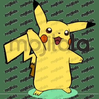 Pikachu Stickers