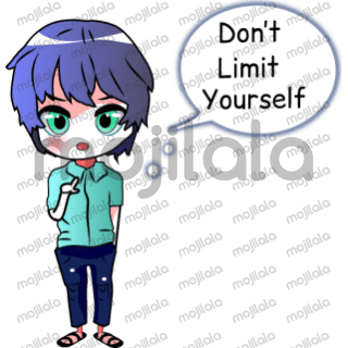 Girl and boy entrepreneur quotes sticker package.