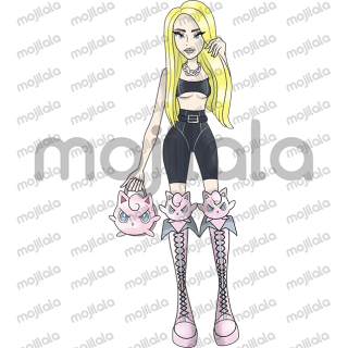 Kim Petras has teamed up with her creative Bunheads on Tumblr to create an official sticker pack. Woo-ah!