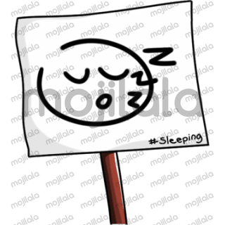 Signboard emoticon.  Silently share your emotions with the Signboard emoticon.  set of 20 emoticons.