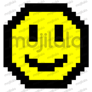 Sticker pack of expressions in 8Bit design