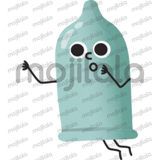 Funny ghosts for sticker