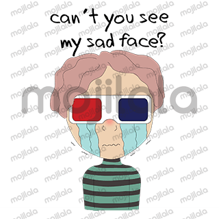 Kori is an edgy young man who's really into quirky fashion sense, and loves to wear 3D Glasses.