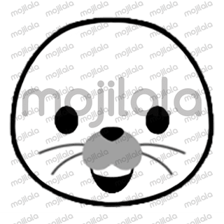 80 emojis of cute little seal! :) Have fun with them!
