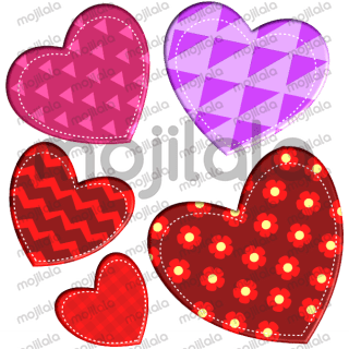 Cool 3D love-themed sticker pack!