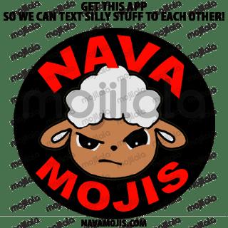 Say something cute in Navajo to someone else using these Navamojis!