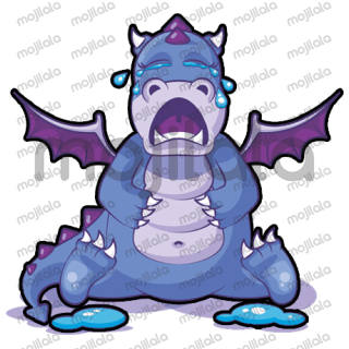 Not your average Dragon! Here comes Dot, the super adorable, perpetually sleepy Dragon with all his moods.