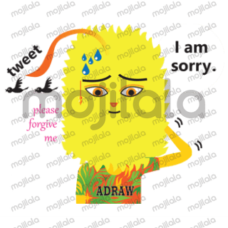 let's make your chat so fun with Adraw stickers.