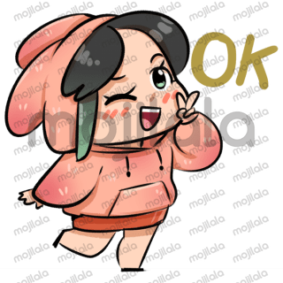 Have Fun With Couple Bunny Stickers :)
