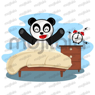 Cute panda emoji stickers for your every mood.
