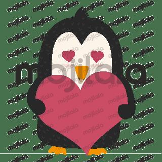 Cute Penguins Animal Stickers penguin, cartoon, animal, cute, winter, bird, character, happy, nature, funny, wildlife, children, fun, baby, love, holiday, santa