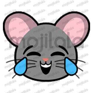 80 emojis of cute little mouse! :) Have fun with them!