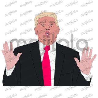 President Trump stickers by Hanna. Lets enjoy it!! You can also find my President Obama stickers in App: https://itunes.apple.com/zw/app/president-obama-stickers-by-hanna/id1191484567#?platform=ipad