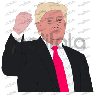 President Trump stickers by Hanna. Lets enjoy it!!