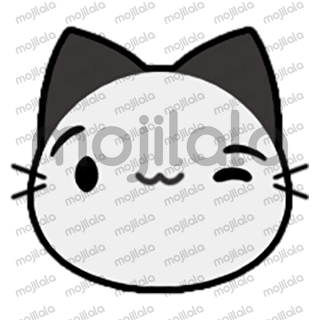 80 emojis of cute little street cat! :) Have fun with them!