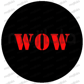 Wordy Black Circle
