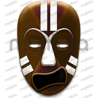 African and ethnic expressive Masks
