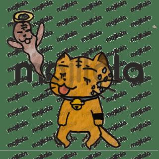 Little nasty ginger cat