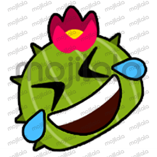 80 emojis of cute little cactus! :) Have fun with them!