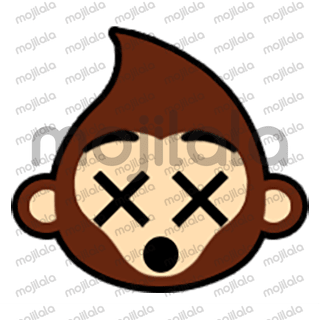 80 emojis of cute little monkey! :) Have fun with them!