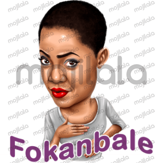 Spice up your conversation. Express youself with native Emojis from the world best Toyin Abraham.