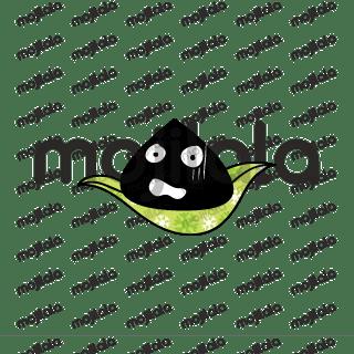 Black rice dumplings emoji