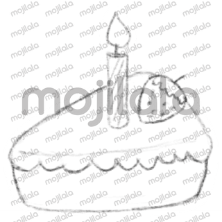 Spice up your messages with hand drawn birthday stickers.