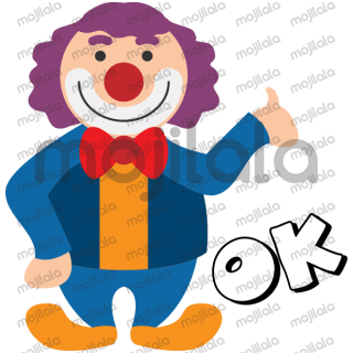 This is a Clown Sticker Pack.