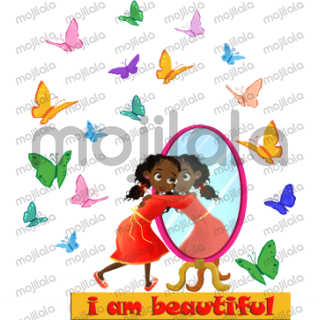 """The """"I am Beautiful stickers are based on my best-selling book, """"I am Beautiful: When I Look at Me, I See..."""" And, in support of diversity and #WeNeedDiverseBooks the multicultural sticker collection aims to inspire, uplift, encourage and empower young girls and females alike to embrace their """"Beauty"""" our """"Beauty"""" and uniqueness. """"I am Beautiful"""" stickers will be of the book's main character (Naomi); and just like the book the stickers will exhibit Naomi's lovely characteristics while at the same time showcasing positive affirmations, as stickers represent a basic vehicle for communication."""