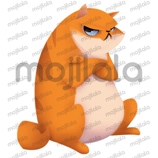 21 Adorable Stickers with a Cute Cat
