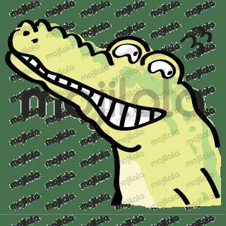 Crocodile and chicken so funny