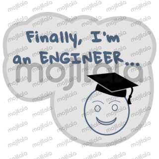 Engineers things in an sticker pack.