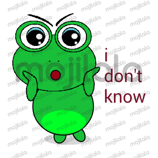 Hello! My name is Kodochi. I am a frog, a cute one (ahem!). Nice to meet you.
