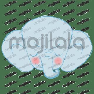 Cutie elephant emoticon