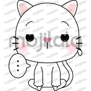 A cute and funny white cat is here to bring cute sticker faces to your chats ! These cute stickers are sure to make both you and your friends happy!