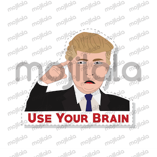 Donald Trump emoji stickers