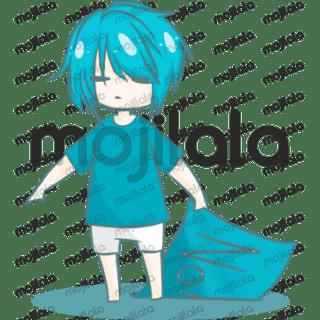 Blue hair boy Daily life!?
