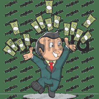 Businessman sticker pack.
