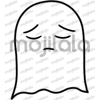 Baby ghost stickers!