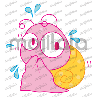 Pinky Snail is Cute and Fun loving. Get her into your day to day conversations and make them cute and loving.