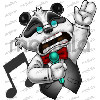 Boss Panda is a verbally challenged panda who runs a fairly successful factory employing many human workers.