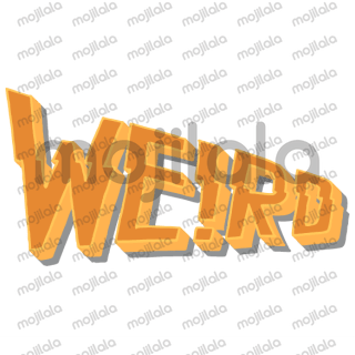 Hand-lettered Halloween-themed stickers for daily conversations.