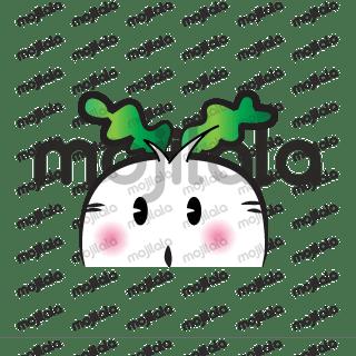 fat radish emoji