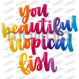 Use these hand lettered expressions for everyday texts, inspirational and motivational conversations, or just to let off some steam.
