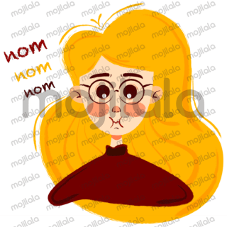 This humorous blonde girl sticker collection is now on Line! Perfect for you to express your feelings at any time. Let's make your LINE chats more hilarious!