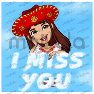 These stickers are avatar sticker.These will be helpful for you to send your expression to another in message.