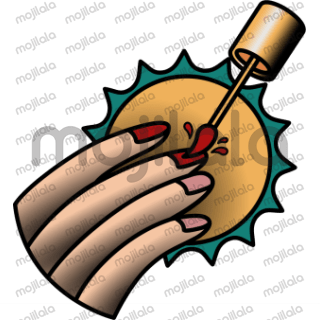 From body to screen. Yup, traditional tattoo are available. This very classic and these stickers help us remember about the beauty of the art of drawing in the body, but this time in the form of stickers. Grab it for your phone.