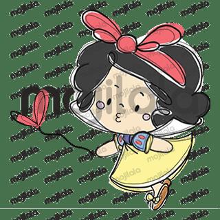 Cute Snow White