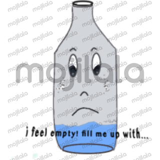 Bottles are everywhere and are colorful and alive. Use them to express yourself on any of your conversations.